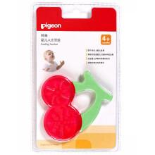 贝亲(Pigeon) 婴儿入水牙胶玩具宝宝磨牙器 茄子胡萝卜4月以上 NA14-NA20 NA16樱桃形