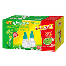 榄菊 野菊花电热蚊香液2瓶100晚+加热器 驱蚊液 电蚊香 电蚊液