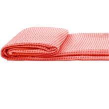 依琦莲瑜伽铺巾硅胶加厚防滑瑜伽毯子瑜珈铺巾带网包183*61健身毯 硅胶铺巾粉色含网包