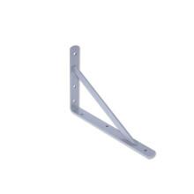美达斯 墙面支架 壁挂托架三角承重支撑架角码 21*30cm 白色钢 单个10283