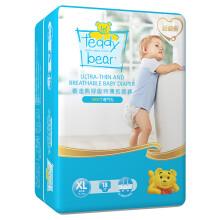 泰迪熊 呼吸特薄尿不湿 夏季超薄干爽婴儿纸尿裤迷你装 XL18片