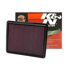 美国K&N高流量风格免更换空滤适用于福特新款蒙迪欧 马丁前脸款 KN高流量风格改装空气滤清 全新蒙迪欧.