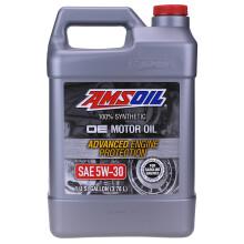 安索(AMSOIL)润滑油 汽车机油 OE系列OEF1G 全合成 SN级5W-30 3.78L