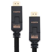 乐歌(Loctek) HMC113 1.4版HDMI高清线/可折弯/一线通/支持3D 2米