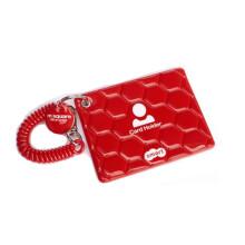 乐活MSquare 防盗证证件套防丢失车匙门卡银行卡套卡包便携户外旅行用品 红色