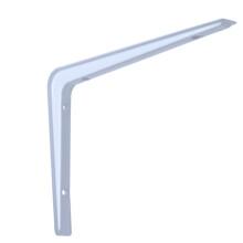 美达斯 墙面支架 壁挂托架直角承重支撑架角码 19*27cm 白色单个 10272