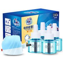 兔之力(兔の力)电热蚊香液 无线加热器+240晚 无香型 驱蚊液 电蚊香
