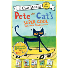 Pete the Cat's Super Cool Reading Collection (My First I Can Read) (套装共5册)英文原版