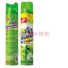好顺 空气清新剂汽车除味剂室内空气喷雾剂 清香剂除臭剂香波除味 苹果香型2支装