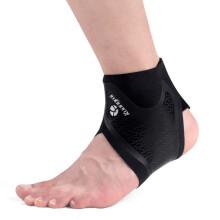 狂迷(kuangmi)开放式易穿戴护踝男女脚踝扭伤防护运动护具KMh808 M码 2只装
