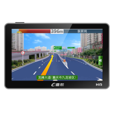 e道航E22凯立德汽车导航仪 5英寸车载GPS导航仪测速一体机 标配
