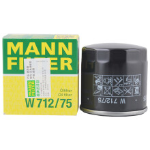 曼牌(MANNFILTER)机油滤清器/机滤/机油滤芯W712/75(昂科拉/创酷/新英朗/沃蓝达/科帕奇/萨博/雅特/威达)