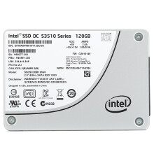 英特尔(Intel)DC S3510系列固态硬盘 (120GB, 2.5in SATA 6Gb/s, 16nm, MLC)