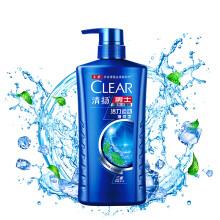 清扬(CLEAR)洗发水 男士去屑洗发露活力运动薄荷型750g(新老包装随机发)