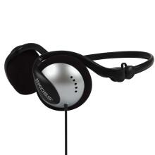 高斯(KOSS)KSC17 后挂式便携耳机 银黑色