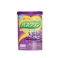 全球购              巴斯克林 温热香浴盐 600g(日本进口) 薰衣草香