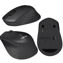 罗技(Logitech)【全球购 大阪发货】Logicool罗技鼠标 g502无线有线游戏键鼠套装 M331无线光学静音鼠标1个【M330升级款】