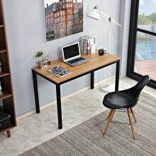 尼德(Need)亚当系列书桌简约办公桌电脑桌台式电竞桌简易桌子写字台电脑办公桌(AC12) AC12柚木面黑腿120*60
