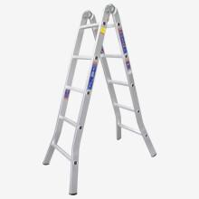瑞居家用梯子双侧梯子人字梯工程梯子铝合金梯多功能折叠5步梯子3170