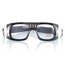 邦士度BASTO运动眼镜 打篮球眼镜 踢足球眼镜 专业防撞击护目镜 BL006:PC专业防爆近视镜片(定制度数)