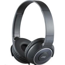 杰伟世(JVC)HA-S220-B 黑色 低音导管重低音 时尚监听 折叠随身音乐头戴贴耳耳机