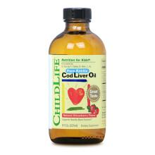 京东国际童年时光宝宝专用dha鳕鱼肝油 儿童鱼油 维生素AD 美国进口 6个月以上