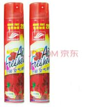 好顺 空气清新剂汽车除味剂室内空气喷雾剂 清香剂除臭剂香波除味 玫瑰香型H-1183