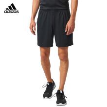 阿迪达斯 adidas CLUBSHORT 羽毛球服短裤 男款 跑步休闲运动裤 黑色 BR2565 L码