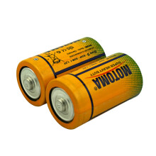 雷欧(motoma) 1号碳性电池R20大号电池煤气灶热水器手电筒适用 2节装