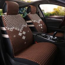豫芒 2020年手编汽车冰丝坐垫2019新款透气夏季座垫凉垫 咖色 英菲尼迪QX50 Q50L QX70