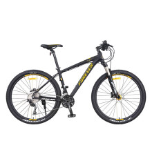 永久 27.5寸自行车 禧玛诺油碟刹30级变速 76年签名纪念款山地车 男女士学生单车 F1940-1 黑金色