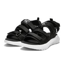 安踏女鞋2019夏季新款情侣鞋休闲透气沙滩鞋凉鞋 黑/安踏白-1 36