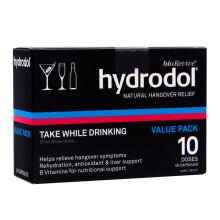 海囤全球              hydrodol 天然解酒片胶囊 40粒/盒 不宿醉 醒酒快 养肝护肝 澳洲进口