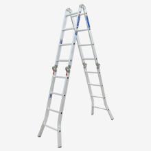 瑞居多功能梯子双侧梯子折叠梯子人字梯子工程梯子家用铝合金梯子YQGJT-6-5000
