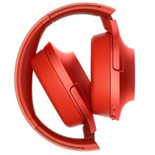索尼(SONY)h.ear on Wireless NC MDR-100ABN 无线降噪立体声耳机(朱砂红)