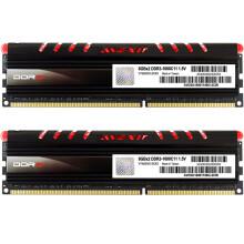 宇帷(AVEXIR) CORE系列 火焰红 DDR3 1600 16GB(8G×2条)台式机内存