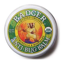 全球购              贝吉獾(Badger) 美国Badger贝吉獾护手霜 虫虫怕怕膏21g防蚊虫叮咬