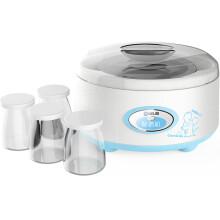 东菱(Donlim)DL-SNJ012 酸奶机 家用全自动不锈钢内胆 4分杯 1L 蓝色