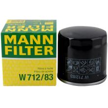 曼牌(MANNFILTER)机油滤清器/机滤/机油滤芯W712/83(普拉多/皇冠/兰德酷路泽/雷克萨斯GS/LS/IS/LX/RX/SC)