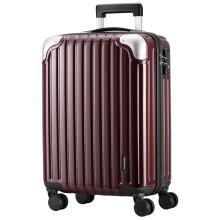 京东超市 瑞动(SWISSMOBILITY)行李箱20英寸时尚轻盈拉杆箱 男女万向轮登机旅行箱 5286酒红色