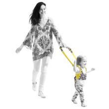 抱抱熊(bébéar)婴儿学步带 宝宝学走路婴儿背带 提篮式亲子带四季卡通款 600F云彩朵朵