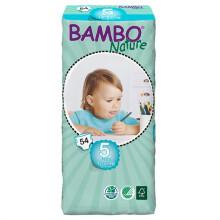 班博(BAMBO) 自然系列 宝宝婴儿透气纸尿裤尿不湿 5号(12-22KG)54片 L码 丹麦原装