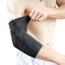 京东超市 D&M日本运动护肘男女篮球护臂关节防护网羽球护肘套高弹透气721黑色S(22-26cm)一只装 721中压运动护肘L(26-30cm)