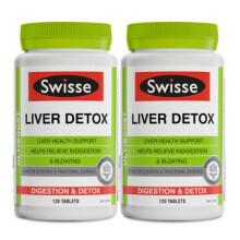 海囤全球              澳洲Swisse 养肝护肝片水飞蓟肝脏排毒Liver Detox120粒  hydrodol 解酒片 护肝片双瓶装