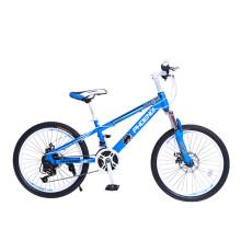 凤凰(Phoenix)儿童自行车18英寸单速青少年赛车中小学生山地车碟刹减震款战神  黑红色 20寸21速明睿蓝色