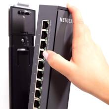 美国网件(NETGEAR)GSS108E插排式非POE交换机