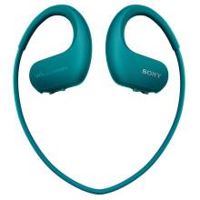 索尼(SONY)可穿戴式运动防水音乐播放器 WS414 (蓝色)