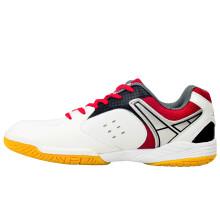 Evervon 乐士止滑耐穿减少摩擦健身网球鞋初级训练羽毛球鞋男女款 SH-801 白色 41
