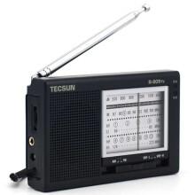 德生(Tescun)R-909TV 调频/调幅/电视伴音收音机(黑色)