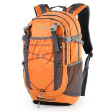 SWISSGEAR 登山包 户外背包男女通款35升 野营徒步双肩背包 大容量旅行背包SA-3701橙色